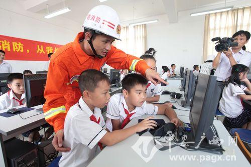 广西全面加强学校消防安全宣传教育纪实